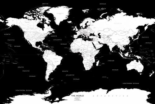 Cartina Geografica Del Mondo In Bianco E Nero.Carta Da Parati Mappa Del Mondo Mondo Bianco E Nero Carta Geografica Illustrazione Terra 1024209 Wallpaperkiss