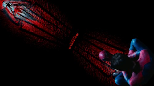 Spiderman Wallpaper Hd 1080p Red Light Darkness Fictional Character Magenta Photography Space Graphics 1112394 Wallpaperkiss
