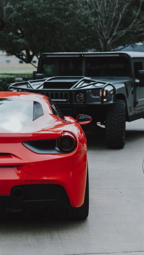 フェラーリiphone壁紙 陸上車両 車両 車 スーパーカー スポーツカー 高級車 レースカー コンセプトカー パフォーマンスカー Wallpaperkiss