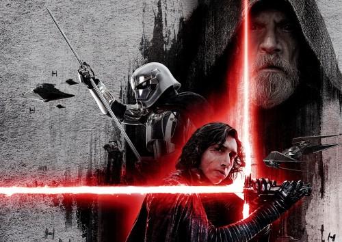 Star Wars The Last Jedi Wallpaper Darth Vader Fictional Character Movie Poster Supervillain Action Film Luke Skywalker Graphic Design 1438422 Wallpaperkiss