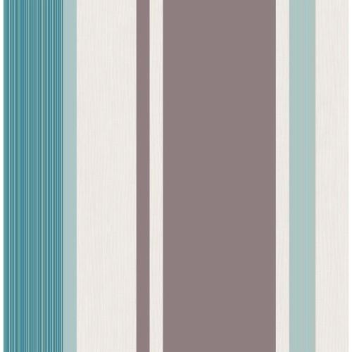 horizontal striped wallpaper b&q,brown