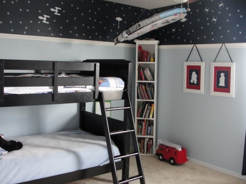 Star Wars Room Wallpaper Bedroom Room Bed Furniture Interior Design Mural Bed Sheet Ceiling Bedding Wallpaper 2503510 Wallpaperkiss